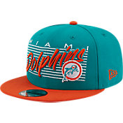 New Era Men's Miami Dolphins  9Fifty Adjustable Turquoise Hat