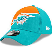 New Era Men's Miami Dolphins Aqua 39Thirty Bolt Fitted Hat