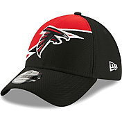 New Era Men's Atlanta Falcons Black 39Thirty Bolt Fitted Hat