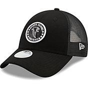 New Era Women's Atlanta Falcons Black Sparkle Adjustable Trucker Hat