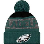 New Era Men's Philadelphia Eagles Pom Knit Hat