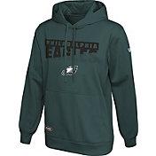 New Era Men's Philadelphia Eagles Combine Green Pullover Hoodie