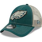 New Era Men's Philadelphia Eagles Green 9Forty Rugged Adjustable Hat