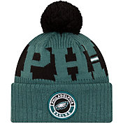 New Era Men's Philadelphia Eagles Sideline Sport Black Knit Hat