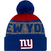 New Era Men's New York Giants Pom Knit