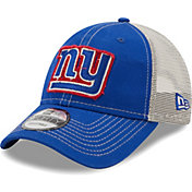 New Era Men's New York Giants Blue 9Forty Rugged Adjustable Hat