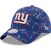 New Era Women's New York Giants Blue Blossom Adjustable Hat