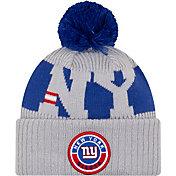 New Era Men's New York Giants Sideline Sport Red Knit Hat