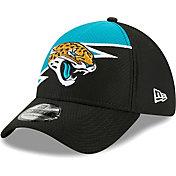 New Era Men's Jacksonville Jaguars Black 39Thirty Bolt Fitted Hat