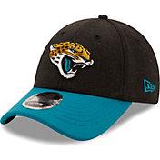New Era Men's Jacksonville Jaguars Black League 9Forty Adjustable Hat