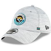 New Era Men's Jacksonville Jaguars Sideline Road 39Thirty Stretch Fit Hat