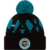 New Era Men's Jacksonville Jaguars Sideline Sport Black Knit Hat