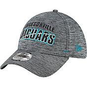 New Era Men's Jacksonville Jaguars Grey Summer Sideline 39Thirty Stretch Fit Hat