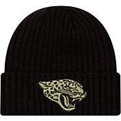 New Era Men's Salute to Service Jacksonville Jaguars Black Knit Hat
