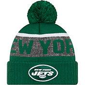 New Era Men's New York Jets Pom Knit Hat