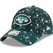 New Era Women's New York Jets Green Blossom Adjustable Hat