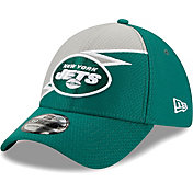 New Era Men's New York Jets Green 39Thirty Bolt Fitted Hat