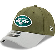 New Era Men's New York Jets Green League 9Forty Adjustable Hat
