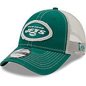 New Era Men's New York Jets Green 9Forty Rugged Adjustable Hat