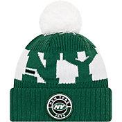 New Era Men's New York Jets Sideline Sport Green Knit Hat