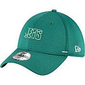 New Era Men's New York Jets Dark Green Summer Sideline 39Thirty Stretch Fit Hat