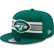 New Era Men's New York Jets Green 9Fifty Strike Adjustable Hat
