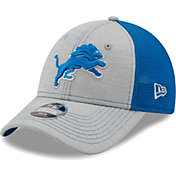 New Era Youth Detroit Lions Blue 9Forty Neo Adjustable Hat