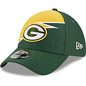 New Era Men's Green Bay Packers Green 39Thirty Bolt Fitted Hat