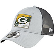 New Era Men's Green Bay Packers NFC North Division Champions 9Forty Grey Adjustable Hat