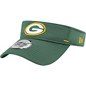 New Era Men's Green Bay Packers Green Summer Sideline Visor
