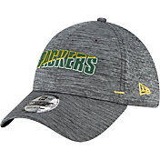 New Era Men's Green Bay Packers Grey Summer Sideline 39Thirty Stretch Fit Hat