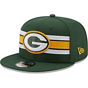 New Era Men's Green Bay Packers Green 9Fifty Strike Adjustable Hat