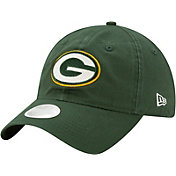 New Era Women's Green Bay Packers Green Glisten 9Twenty Adjustable Hat