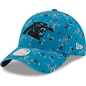 New Era Women's Carolina Panthers Blue Blossom Adjustable Hat