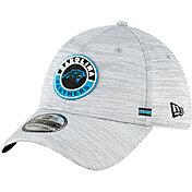 New Era Men's Carolina Panthers Sideline Road 39Thirty Stretch Fit Hat