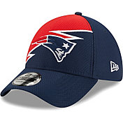 New Era Men's New England Patriots Navy 39Thirty Bolt Fitted Hat