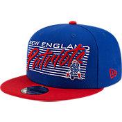 New Era Men's New England Patriots  9Fifty Adjustable Dark Blue Hat