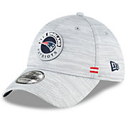 New Era Men's New England Patriots Sideline Road 39Thirty Stretch Fit Hat