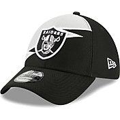 New Era Men's Las Vegas Raiders Black 39Thirty Bolt Fitted Hat