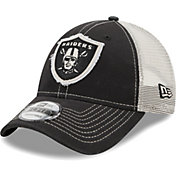 New Era Men's Las Vegas Raiders Black 9Forty Rugged Adjustable Hat
