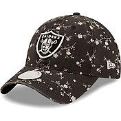 New Era Women's Las Vegas Raiders Black Blossom Adjustable Hat