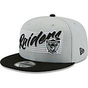 New Era Men's Las Vegas Raiders Grey 9Fifty Strike Adjustable Hat