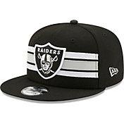 New Era Men's Las Vegas Raiders Black 9Fifty Strike Adjustable Hat