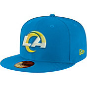New Era Men's Los Angeles Rams Royal 59Fifity Logo Fitted Hat