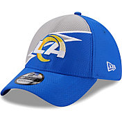 New Era Men's Los Angeles Rams Navy 39Thirty Bolt Fitted Hat