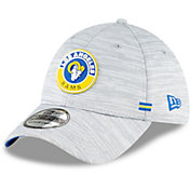 New Era Men's Los Angeles Rams Sideline Road 39Thirty Stretch Fit Hat