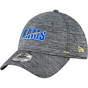 New Era Men's Los Angeles Rams Grey Summer Sideline 39Thirty Stretch Fit Hat