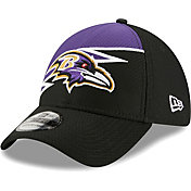 New Era Men's Baltimore Ravens Black 39Thirty Bolt Fitted Hat