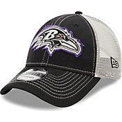 New Era Men's Baltimore Ravens Black 9Forty Rugged Adjustable Hat