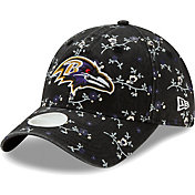 New Era Women's Baltimore Ravens Black Blossom Adjustable Hat